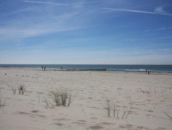 Het strand bij Hollum